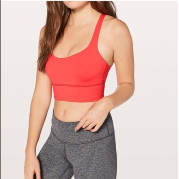 a7e83b0b5d62f NEW • Lululemon • Free To Be Long Line Sports Bra